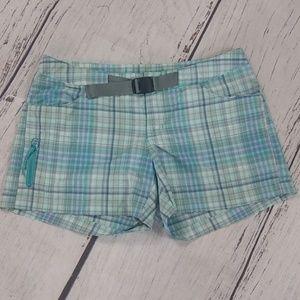 Columbia womens plaid shorts